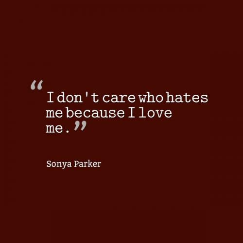 I Dont Care Quote 5 Picture Quote #1