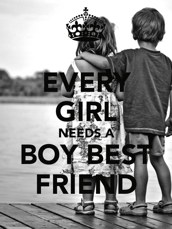 Boy And Girl Best Friend Quote 1 Picture Quote #1