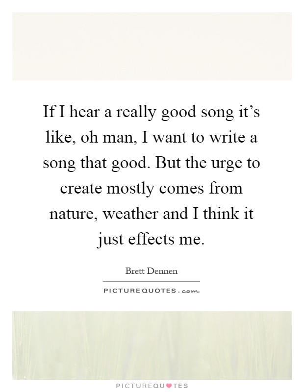 how to write a good song