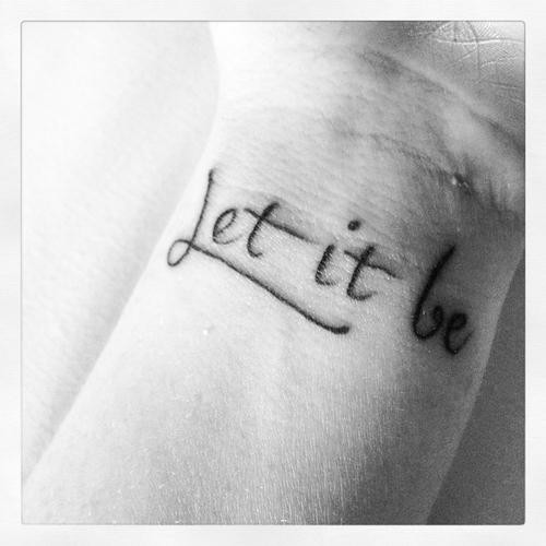 Let It Be Quote 3 Picture Quote #1