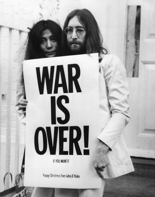 Vietnam War John Lennon Quote 2 Picture Quote #1