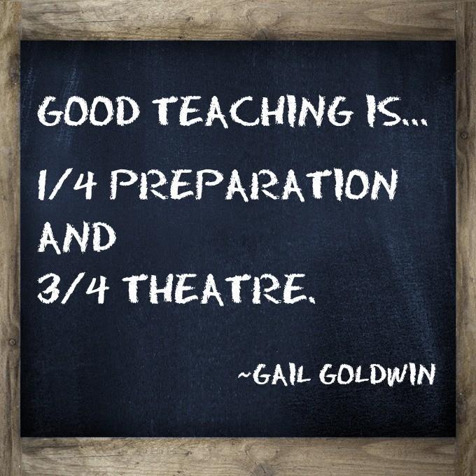 Good Teacher Quote 1 Picture Quote #1