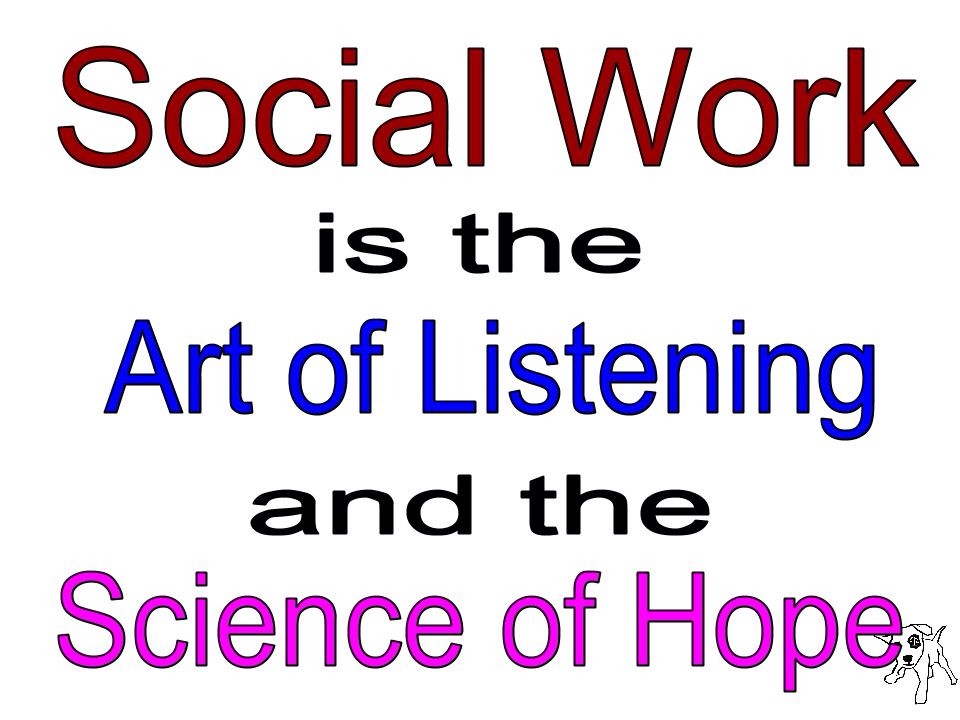 Social Work Quote 3 Picture Quote #1