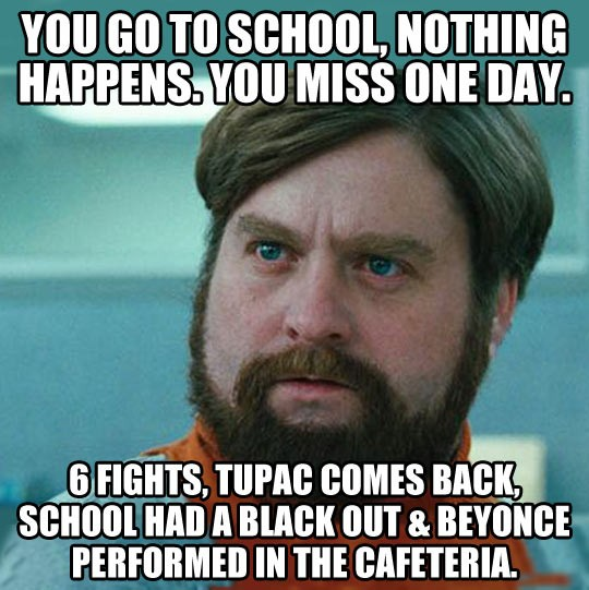 Funny Quote About School Days 1 Picture Quote #1