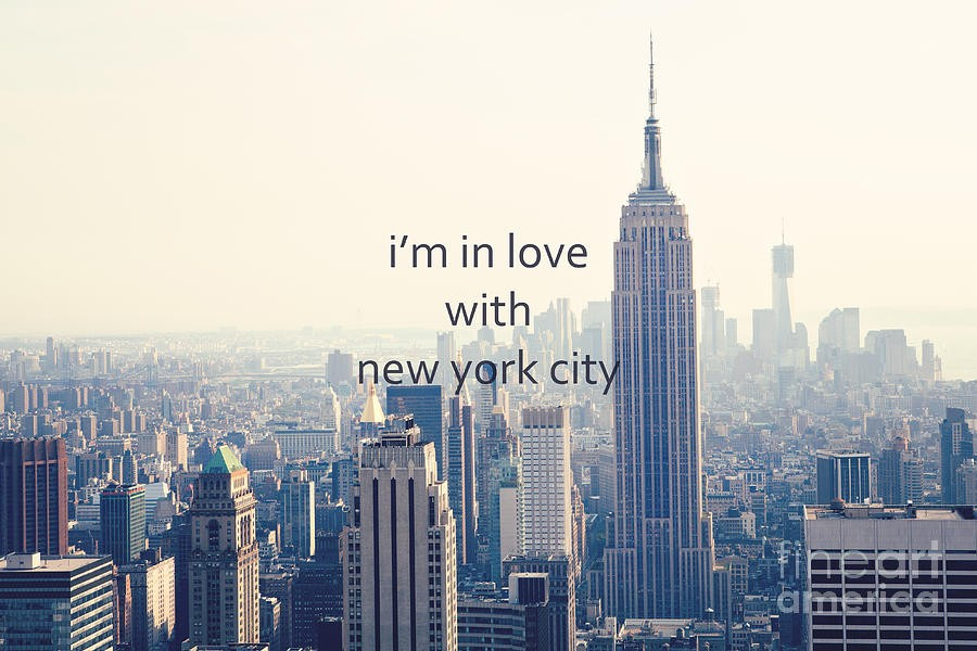 New York City Love Quote 1 Picture Quote #1