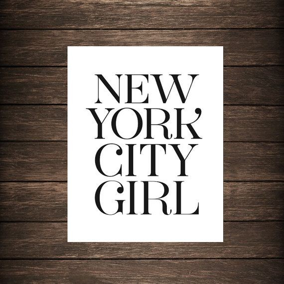 New York City Girl Quote 1 Picture Quote #1