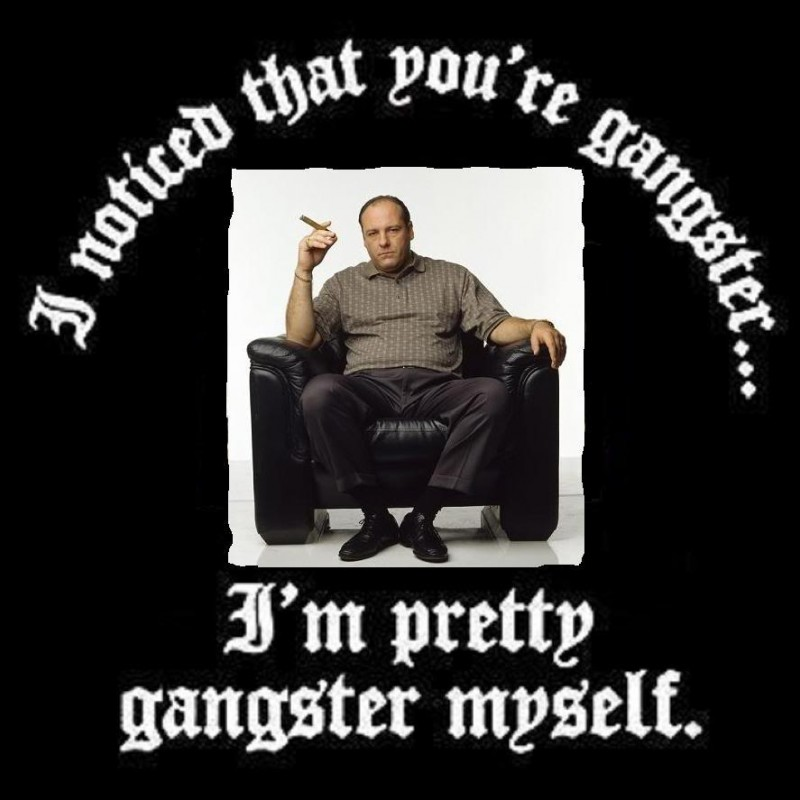 Mobster Quote 1 Picture Quote #1