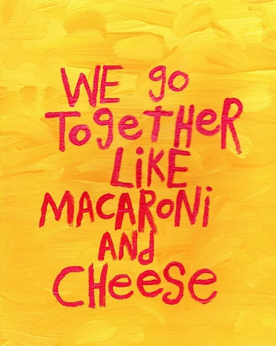 Macaroni And Cheese Quote 1 Picture Quote #1