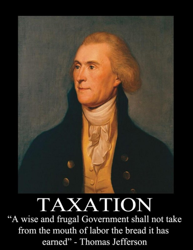Anti Tax Quote 2 Picture Quote #1