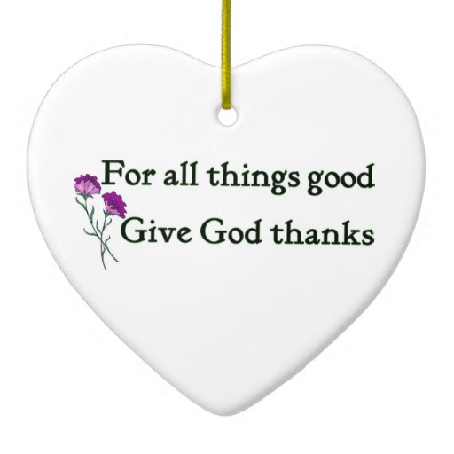 Christian Quote About Giving Thanks 1 Picture Quote #1