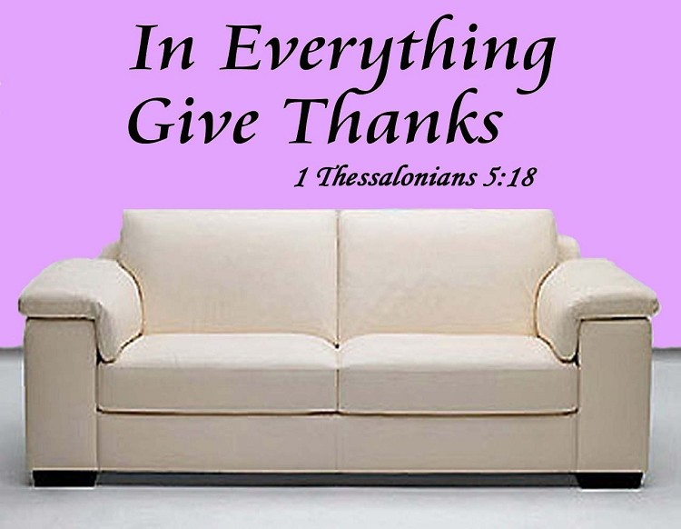 Bible Quote On Giving Thanks 1 Picture Quote #1