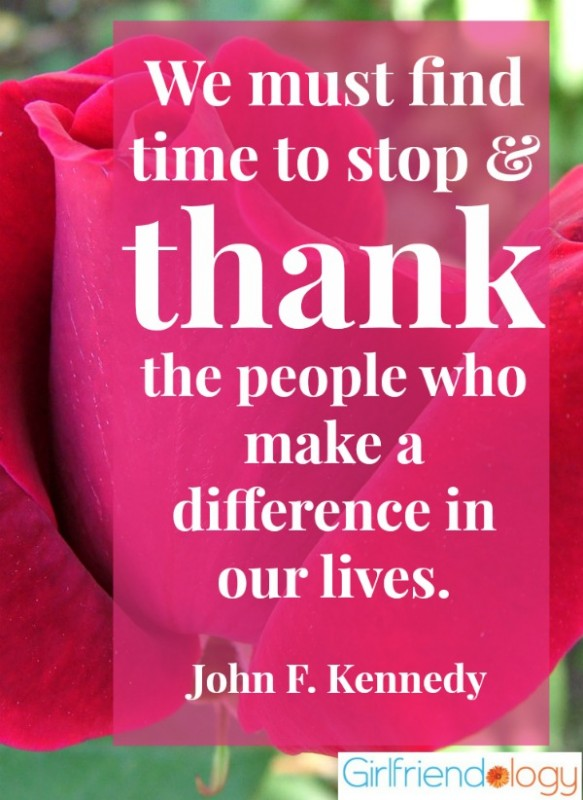 Giving Thanks Quote For Friends 1 Picture Quote #1