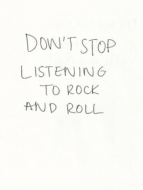 Rock Music Quote 6 Picture Quote #1