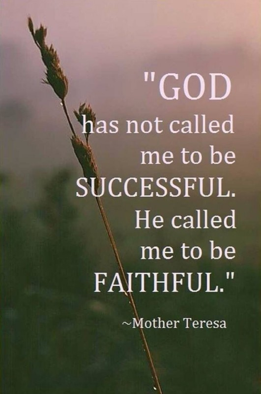 Faithfulness Quote 1 Picture Quote #1