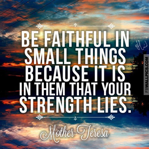 Faithfulness Quote 4 Picture Quote #1