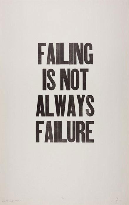 Failing Quote 1 Picture Quote #1
