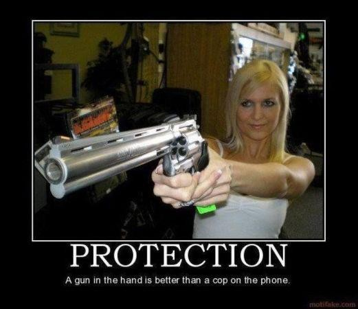 Gun Protection Quote 1 Picture Quote #1