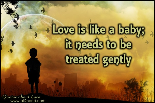 Baby Love Quote 3 Picture Quote #1
