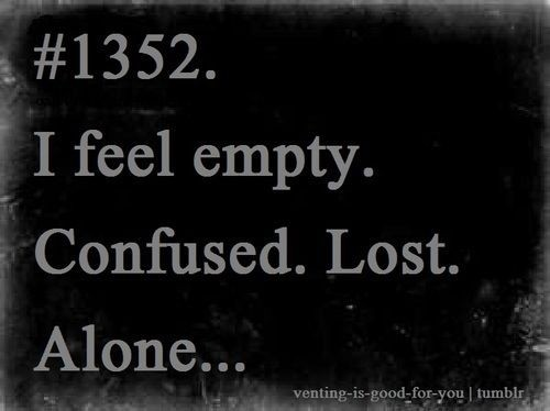 Quote About Feeling Empty And Lost 1 Picture Quote #1