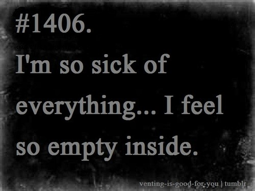 Feeling Empty Quote 4 Picture Quote #1