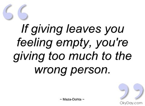 Feeling Empty Quote 9 Picture Quote #1