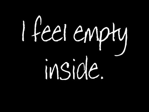 Quote About Feeling Empty 1 Picture Quote #1