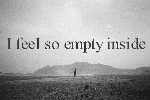 Feeling Empty Quote 14 Picture Quote #1
