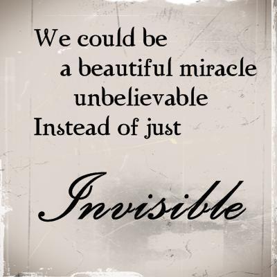 Invisible Quote 9 Picture Quote #1