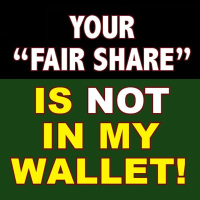 Fair Share Quote 1 Picture Quote #1