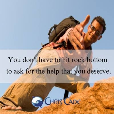 Rock Bottom Quote 8 Picture Quote #1