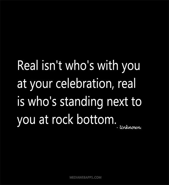 Rock Bottom Quote 10 Picture Quote #1