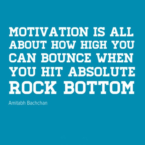 Rock Bottom Quote 12 Picture Quote #1