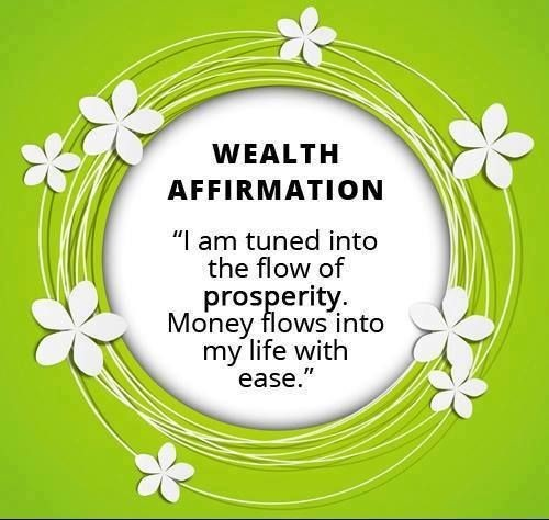 Prosperity Quote Affirmations 1 Picture Quote #1