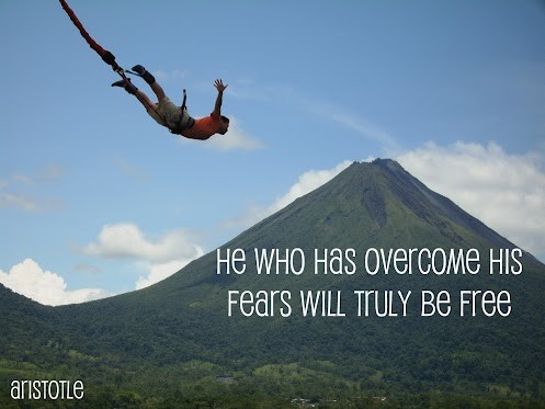 Overcoming Fear Quote 5 Picture Quote #1