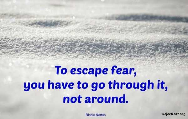 Overcoming Fear Quote 7 Picture Quote #1