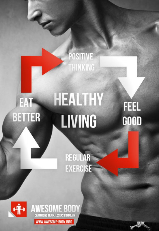Healthy Living Quote 16 Picture Quote #1