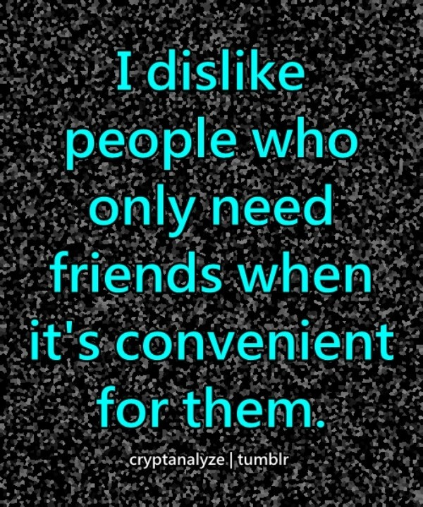 Bad Friendship Quote 1 Picture Quote #1