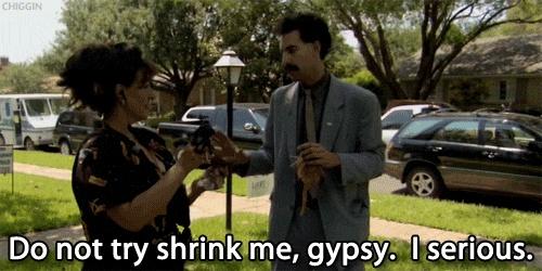 Borat Gypsy Quote 2 Picture Quote #1