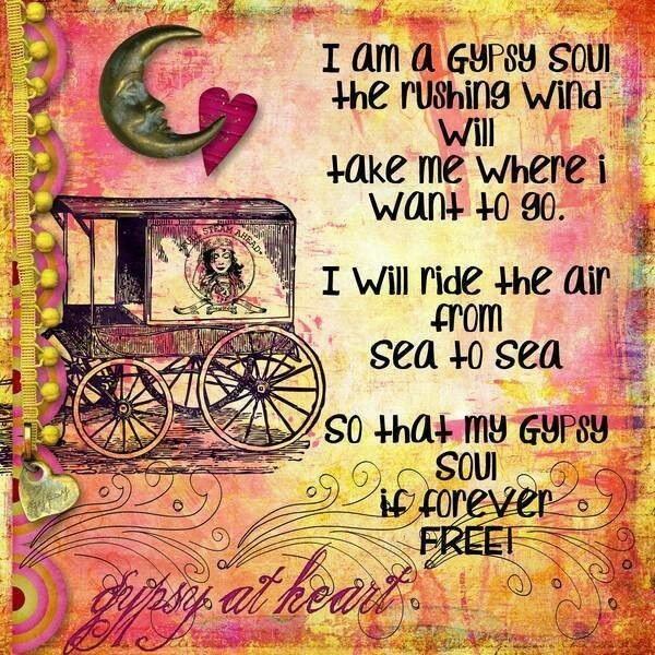 Gypsy Quote 6 Picture Quote #1