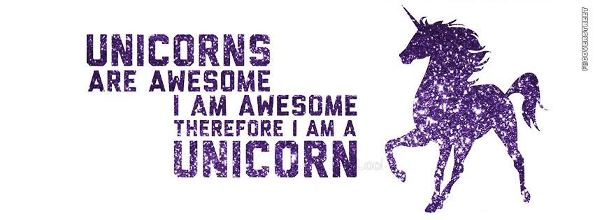 I Am Alone But Happy Facebook Cover Unicorn Quotes | Unico...