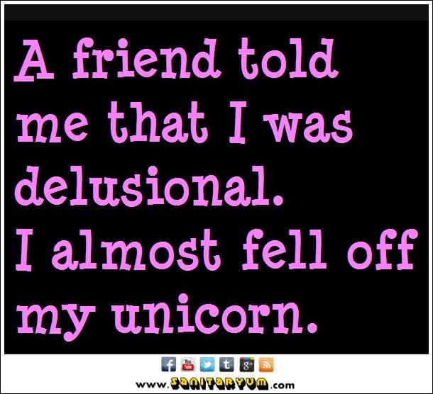 Funny Unicorn Quote 1 Picture Quote #1
