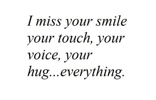 Miss Your Smile Quote 1 Picture Quote #1