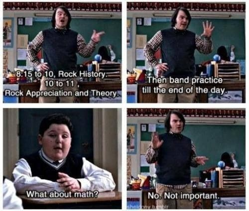 School Of Rock Funny Quote 4 Picture Quote #1