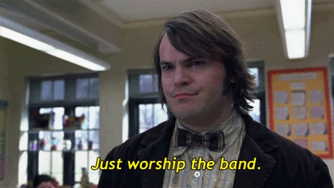 School Of Rock Jack Black Quote 3 Picture Quote #1