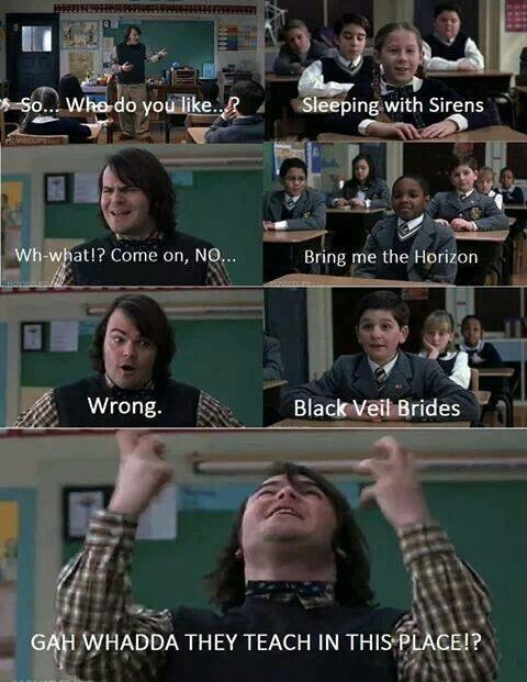 School Of Rock Jack Black Quote 5 Picture Quote #1