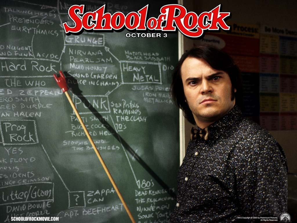 School Of Rock Jack Black Quote 7 Picture Quote #1