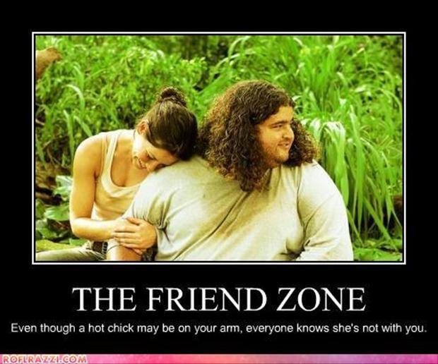 Funny Friend Zone Quote 5 Picture Quote #1