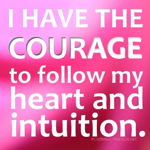 Follow Intuition Quote 2 Picture Quote #1