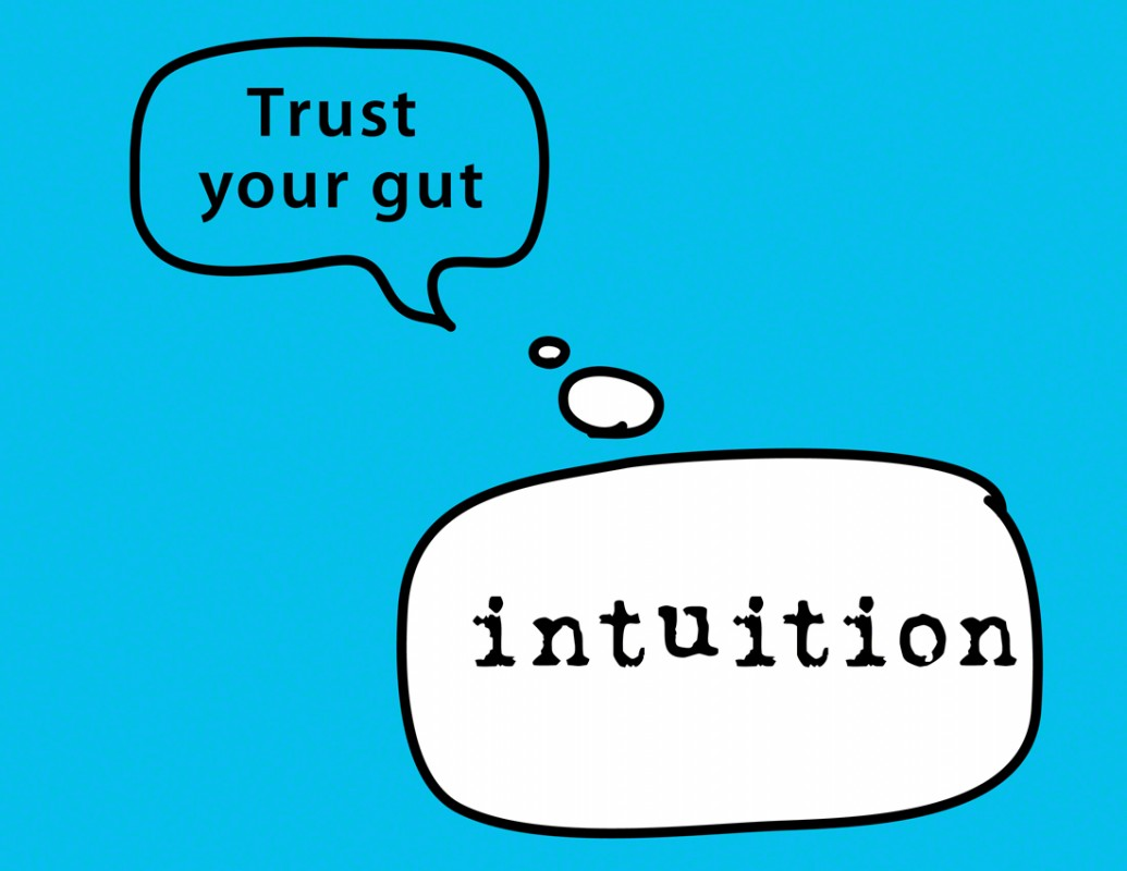 Trust Your Intuition Quote 2 Picture Quote #1