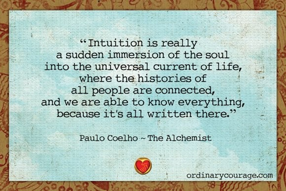 Intuition Quote 2 Picture Quote #1